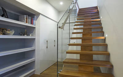 Built-in Open Shelving