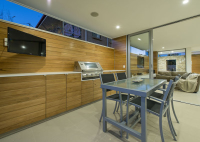 Built-in Outdoor Kitchen