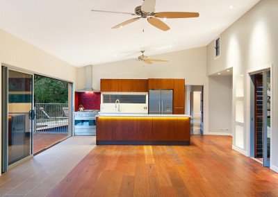 Timber Veneer Kitchen