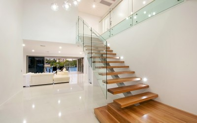 Custom Kitchens and Interiors Elegant Staircase